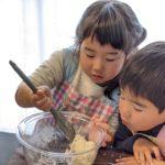 【おうちパン講座90】ニコニコキッズ活動親子講座 ちょうちょパン・いもむしウィンナーロール 親子で楽しめるパン作り♪