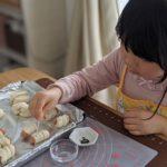 【おうちパン講座115】ニコニコキッズ活動親子講座 ちょちょパン・いもむしウインナーロール&全粒粉の塩バターパン お料理大好き仲良し親子