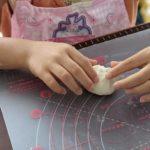 【おうちパン講座141】ニコニコキッズ活動『フライパンパン』将来の夢は姉妹でカフェオープン!