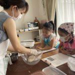 【おうちパン講座140】ニコニコキッズ活動『ちょうちょパン・いもむしウインナーロール』子どもたちが笑顔になるパン作り